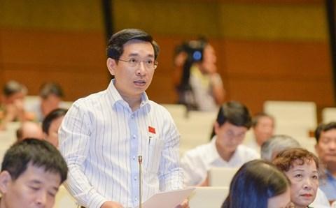 Đại biểu Nguyễn Đức Cảnh (Bình Định)