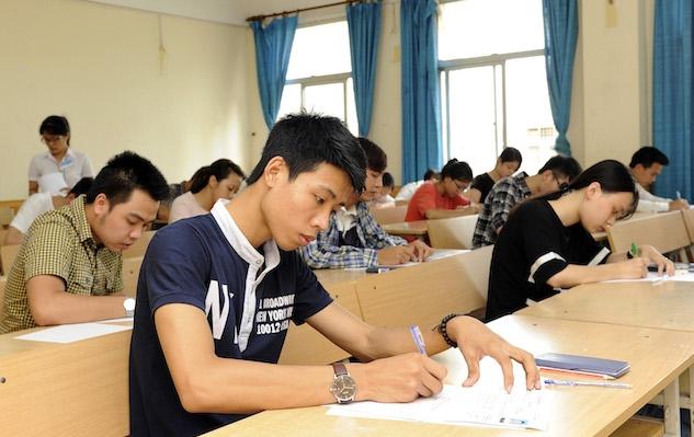 Thí sinh Kỳ thi THPT quốc gia - Ảnh Duy Linh