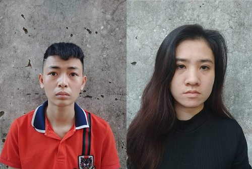 Hai đối tượng buôn bánma túyTrang và Ly