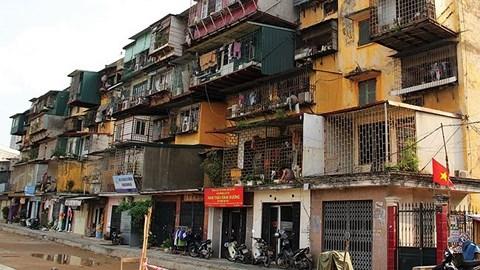 Khó khăn tạm cư để cải tạo chung cư cũ