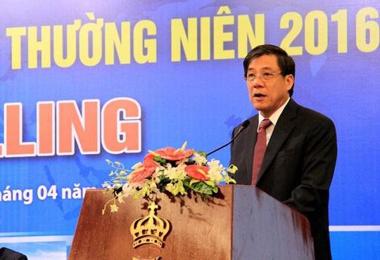 Ông Đỗ Văn Khạnh khi còn đương chức Tổng Giám đốc PVEP .