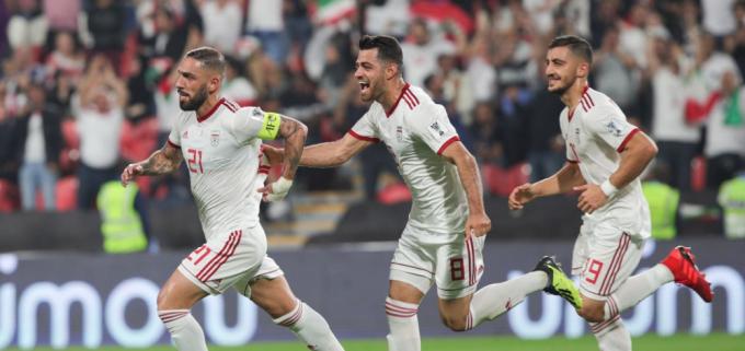 Đội tuyển Iran giành chiến thắng dễ dàng trước đội bóng yếu nhất Asian Cup 2019.