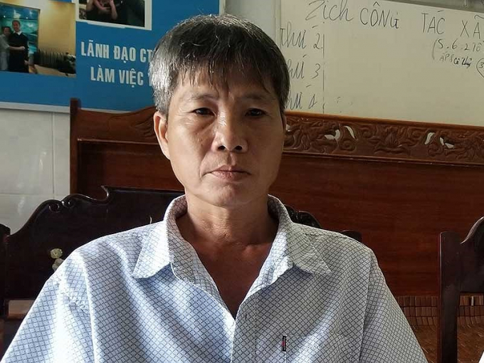 Nguyên đơn là ông Dữ tỏ ra lo lắng trước phiên xử phúc thẩm. Ảnh: TVŨ.