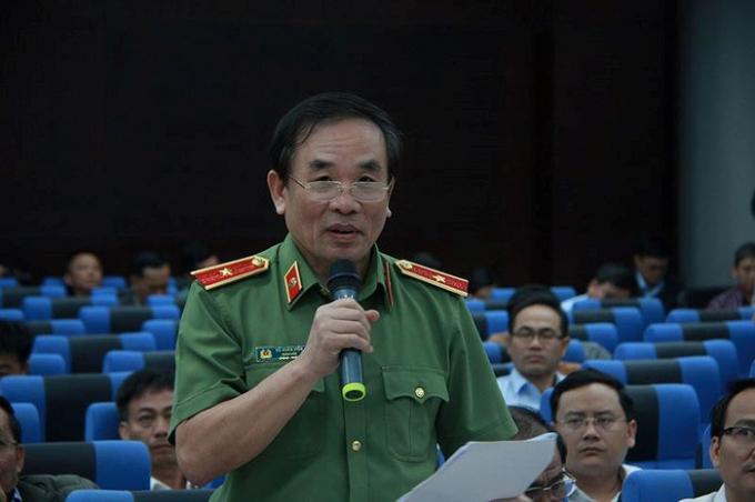 Thiếu tướng Vũ Xuân Viên, Giám đốc Công an TP Đà Nẵng.