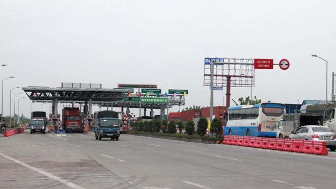 Ngày 4.1, trạm BOT trên quốc lộ 10 bắt đầu thu phí.
