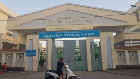 Trường THPT Nguyễn Trung Trực (TP. Rạch Giá, Kiên Giang).
