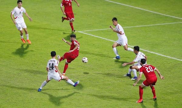 Li Băng đã không thể đi tiếp dù thắng Triều Tiên đến 4-1.