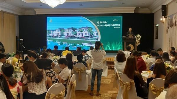 Dự án được Mland Vietnam mở bán ngày 6/1 với tên Long Thượng Riverside.