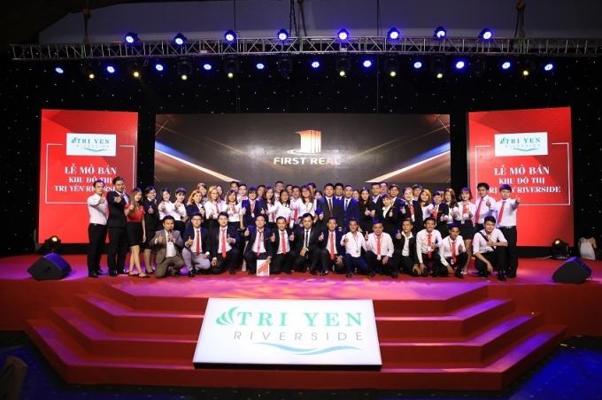 Dự án được First Real Miền Nam mở bán với tên Trị Yên Riverside.