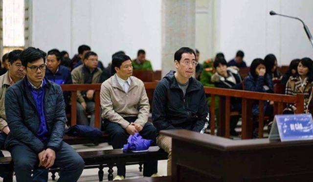 Các bị cáo nguyên là lãnh đạo Cty BSR bị cáo buộc nhận hàng tỉ đồng từ việc chi lãi ngoài của Hà Văn Thắm.