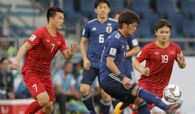Đấu với Nhật Bản, nhưng tuyển Việt Nam đã thể hiện tốt hơn cả mong đợi.