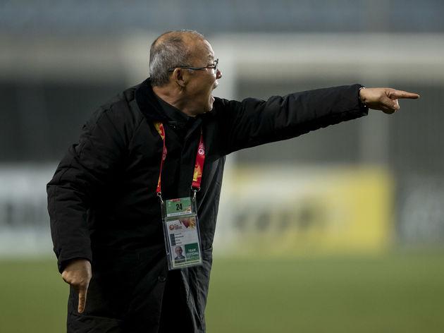 HLV Park Hang-seo với Liên đoàn bóng đá Việt Nam chỉ còn thời hạn tới tháng 1.2020.