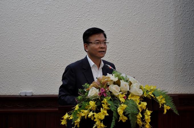 Bộ trưởng Lê Thành Long phát biểu chỉ đạo Hội nghị.