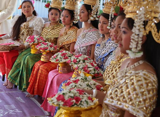 Năm mới ở Campuchia.