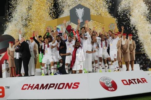 Qatar vô địch Asian Cup 2019 với thành tích toàn thắng (Ảnh: AFC).