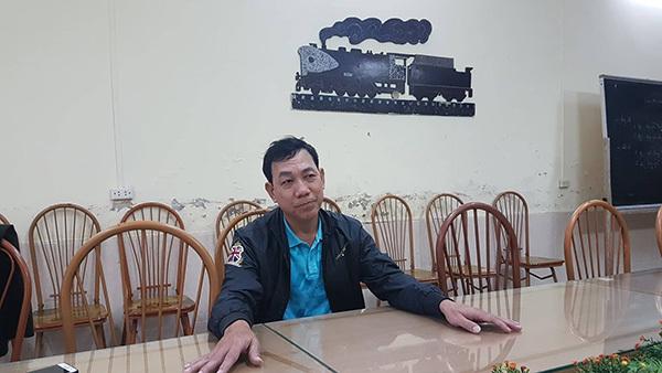 Lái tàu Nguyễn Cảnh Dương.