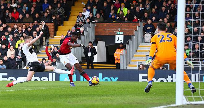 Pogba đang là cầu thủ thi đấu nổi bật nhất của M.U.