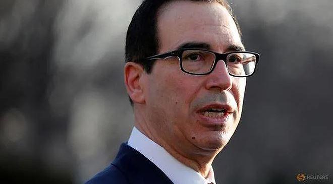 Bộ trưởng Tài chính Mỹ Steven Mnuchin Ảnh: Reuters