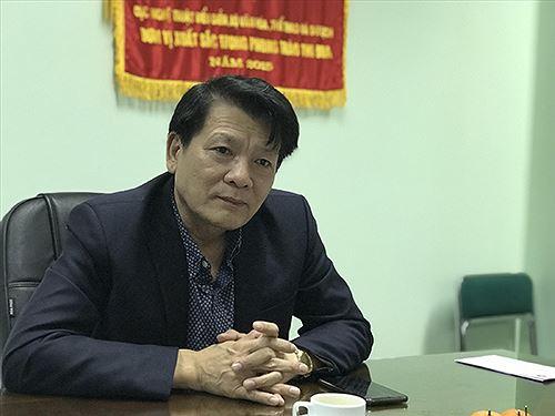 NSND Nguyễn Quang Vinh, Quyền Cục trưởng Cục Nghệ thuật biểu diễn.