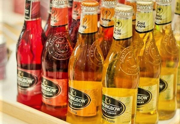 Một loại sản phẩm từng được đặt dấu hỏi là rượu bia trá hình hay nước hoa quả lên men.