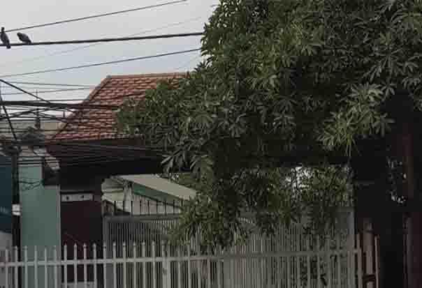 Nhà nghỉ nơi nạn nhân sinh sống.