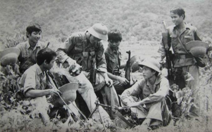 Chiến sỹ Vị Xuyên 1979 - 1989. Ảnh tư liệu.