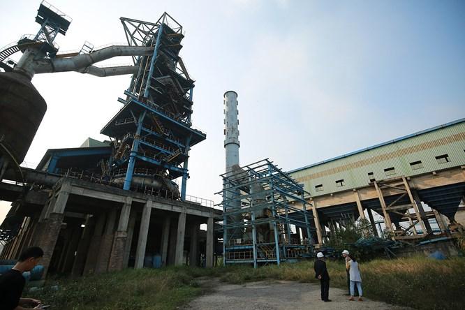 Dự án mở rộng sản xuất giai đoạn 2 bị bỏ hoang phế nhiều năm.