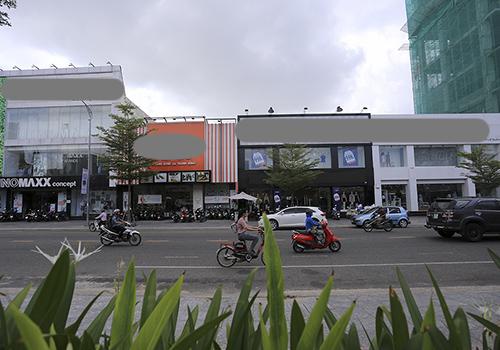 Nhà đất số 57 Lê Duẩn đang được cho nhiều hãng thời trang thuê.