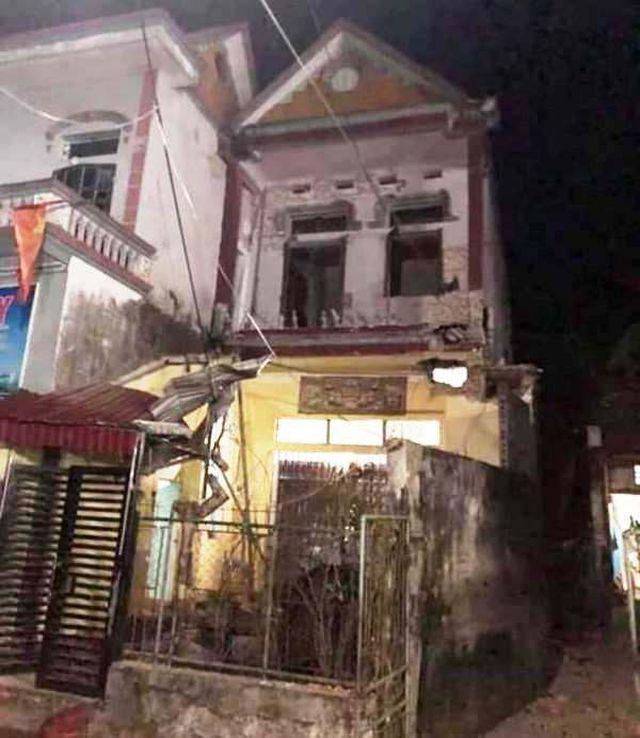 Ngôi nhà của gia đình ông Liên.