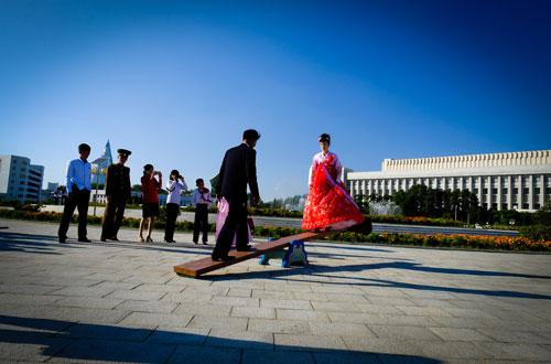 Cuộc sống thường nhật ở Triều Tiên qua ống kính du khách Việt.