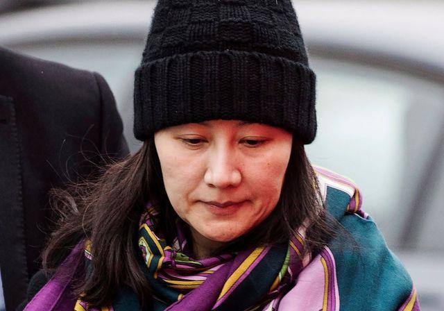 Giám đốc tài chính Huawei Mạnh Vãn Chu (Ảnh: Reuters)