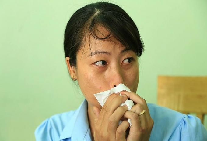 Chị Chung đau đơn khi mất 2 đứa con, trên cơ thể mang thương tích trên 50% vậy mà ban đầu công an và VKS thị xã Dĩ An lại không khởi tố vụ án.