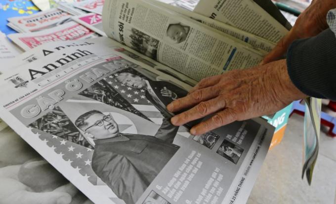 Hội nghị thượng đỉnh Mỹ - Triều trở thành sự kiện khó quên với nhiều người dân.