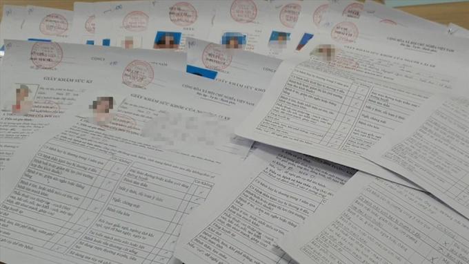 Các thầy dạy nằm trong mắt xích cấp khống hàng loạt giấy khám sức khỏe cho nhiều học viên lái xe ở Bắc Ninh.