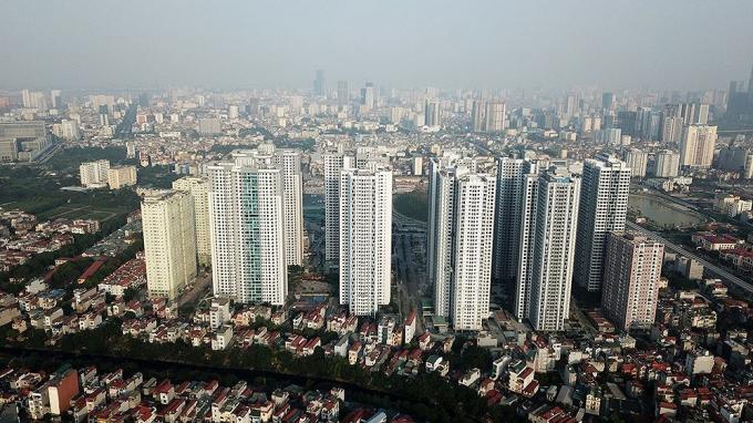 Hà Nội có mật độ xay dựng cao gấp đôi Singapore