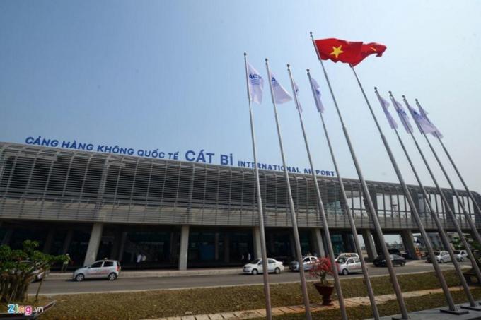 Sân bay Cát Bi đứng đầu về chất lượng dịch vụ hàng không.