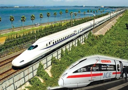 Đường sắt cao tốc Bắc-Nam nếu được triển khai sẽ ngốn khoảng 58,7 tỷ USD với tốc độ khai thác 320km/giờ.