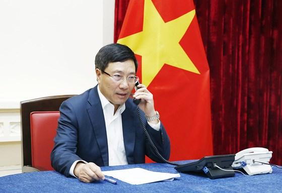 Phó Thủ tướng, Bộ trưởng Bộ Ngoại giao Phạm Bình Minh. Ảnh: Báo Thế giới và Việt Nam