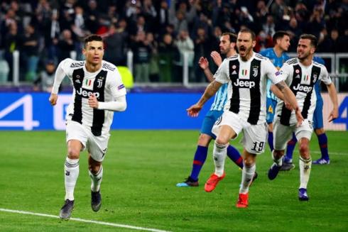 Juventus có màn ngược dòng ấn tượng trước Atletico Madrid, qua đó thẳng tiến tứ kết Champions League 2018/2019. (Ảnh: Getty)