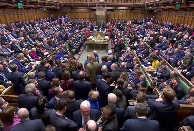 Các nghị sỹ Anh bỏ phiếu tại Hạ viện bác bỏ việc Brexit không thỏa thuận.