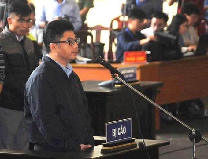 Bị cáo Nguyễn Văn Dương tại tòa.