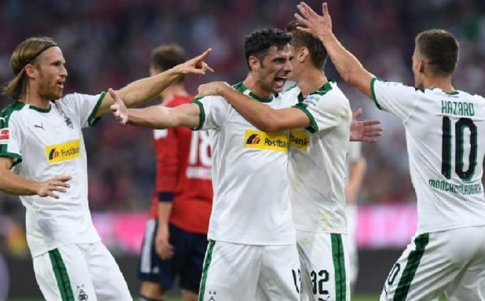 Gladbach từng đánh bại Bayern Munich 3-0 ngay tại hang Hùm ở lượt đi mùa giải Bundesliga năm nay