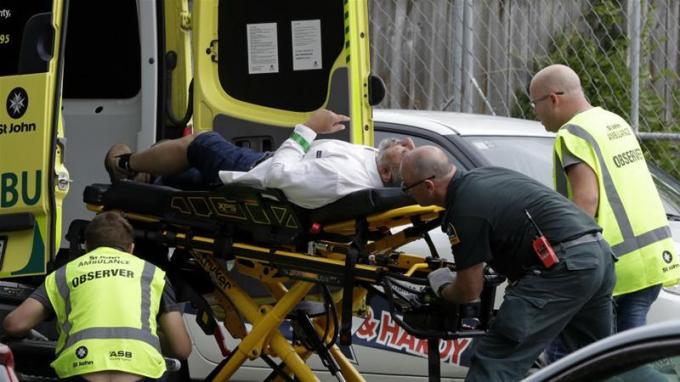 Bốn mươi người chết trong các vụ xả súng tại New Zealand