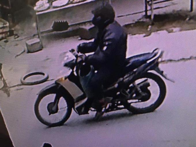 Chân dung Nguyễn Trọng Tình được trích xuất từ camera của nhà dân quanh khu vực xảy ra vụ án, nhờ đó Công an đã lần ra bị can này
