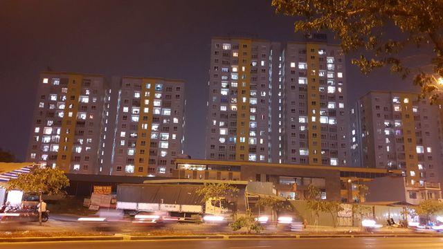 80% căn hộ tại chung cư Carina đã sáng đèn về đêm