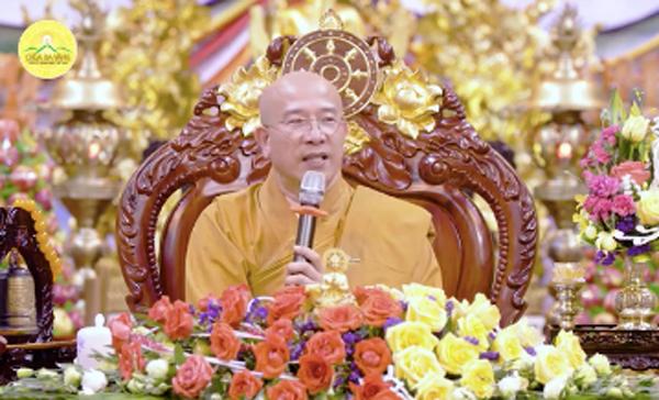 Đại đức Thích Trúc Thái Minh, trụ trì chùa Ba Vàng.
