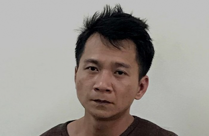 Vương Văn Hùng - đối tượng bị bắt đầu tiên trong vụ án