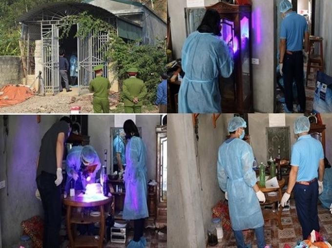 CQĐT khám xét nhà Bùi Văn Công ngày 23/3, hiện trường chính của vụ án