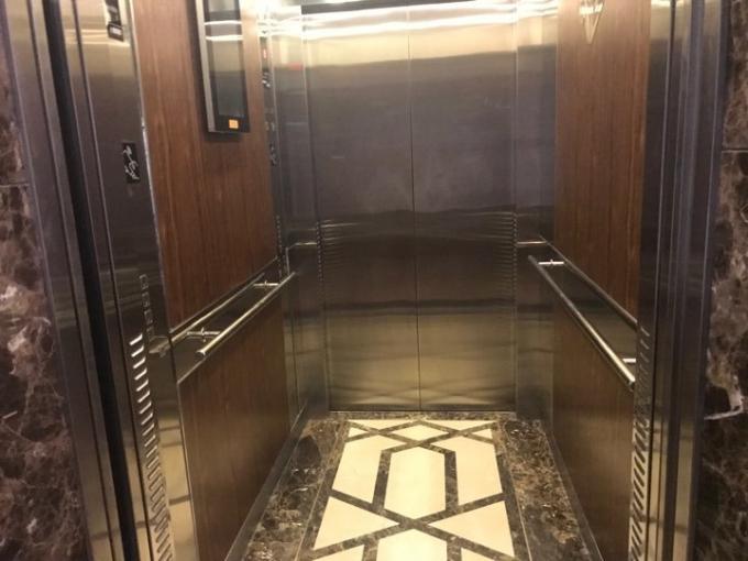 Khu vực thang máy xảy ra sự việc