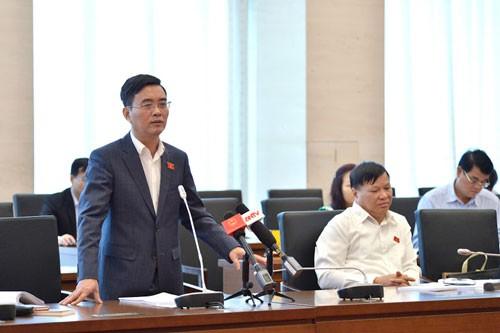 ĐBQH Hoàng Quang Hàm đề nghị giữ nguyên mức vốn đầu tư dự án quan trọng quốc gia 10.000 tỉ đồng như hiện nay